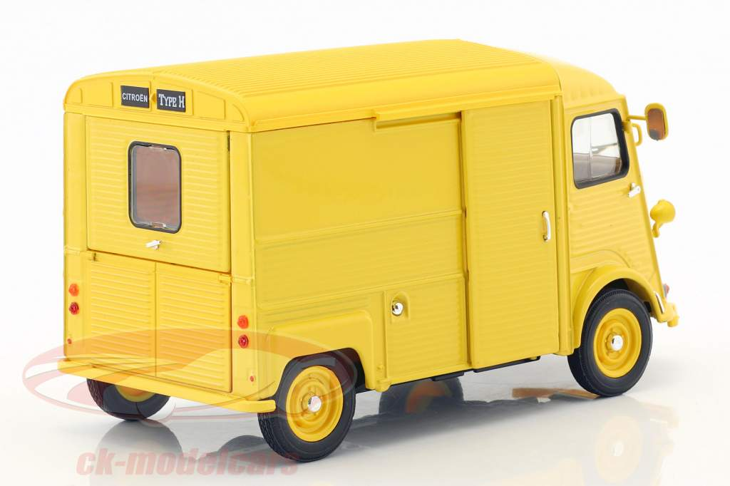 Citroen HY Citroen Service Bouwjaar 1962 geel 1:24 Welly