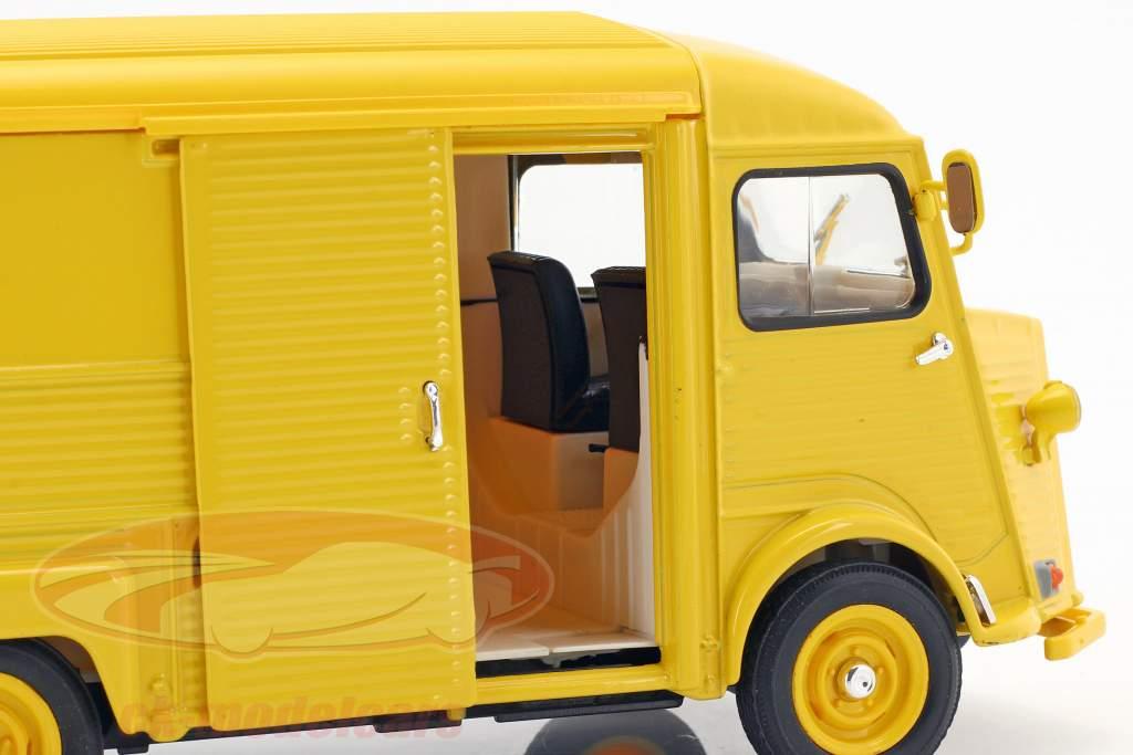 Citroen HY Citroen Service year 1962 yellow 1:24 Welly