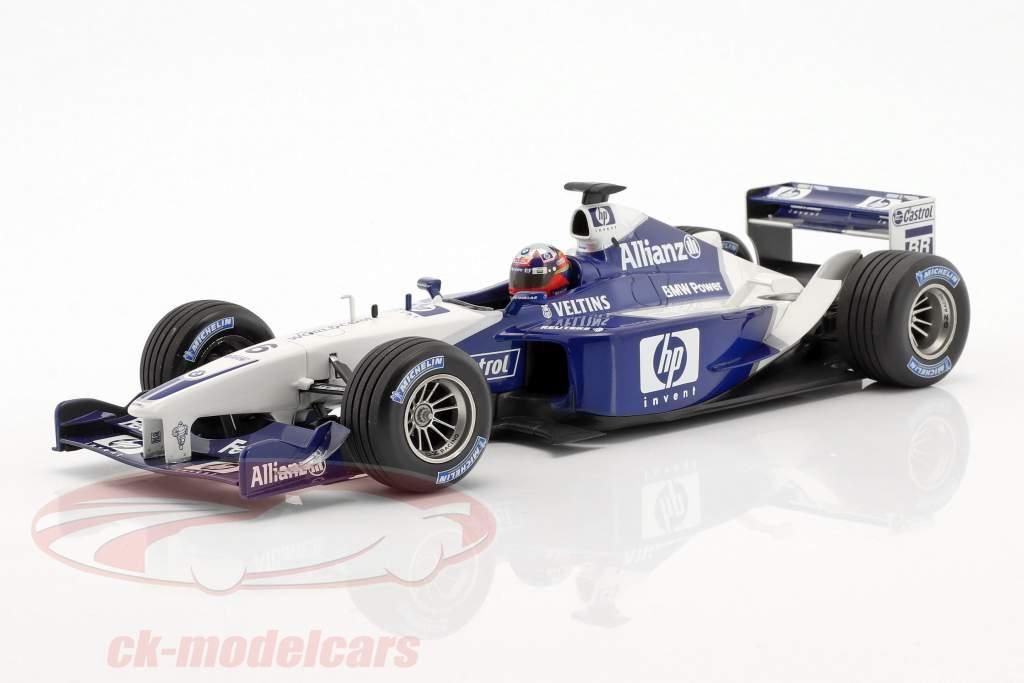 J.P. Montoya Williams FW24 #6 formel 1 2nd half of season 2002 1:18 Minichamps