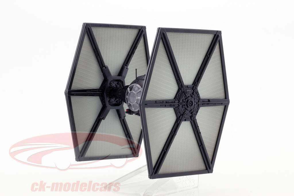 TIE Fighter Starship Star Wars VII - The Force Awakens (2015) negro HotWheels Elite