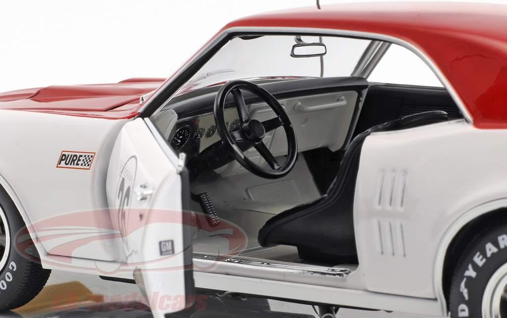 Pontiac Trans Am Firebird #26 1968 Jerry Titus weiß / rot 1:18 GMP