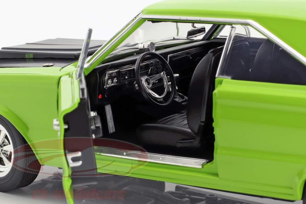 Plymouth Hemi GTX año de construcción 1967 brillante verde 1:18 GMP