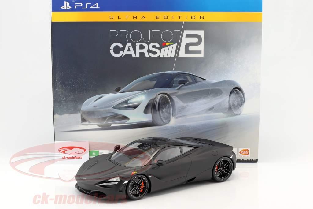 McLaren 720S 1:12 TrueScale Ultra Edition Project Cars 2 y compris jeu PS4 et un autre accessoires