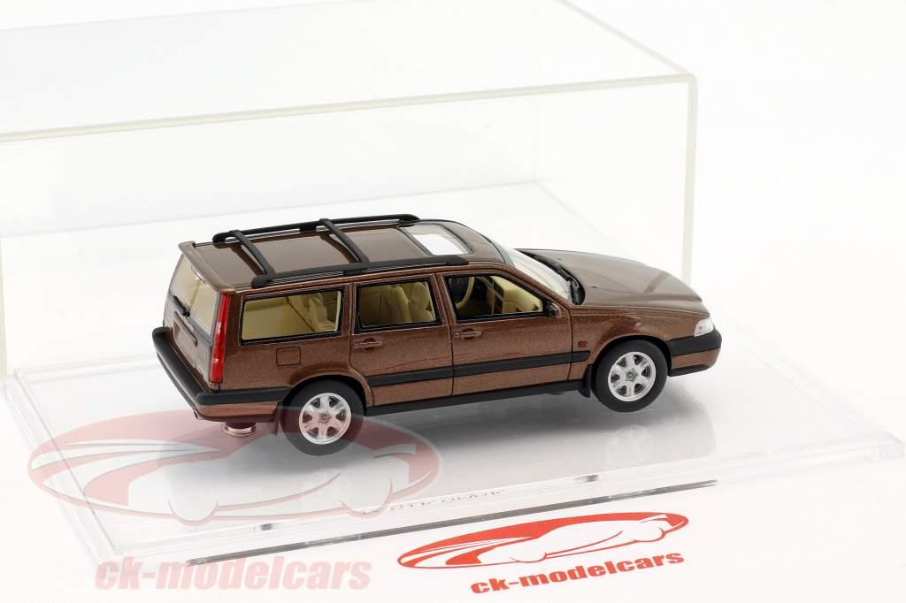 Volvo V70 XC anno di costruzione 1997 sandstone marrone metallico 1:43 DNA Collectibles