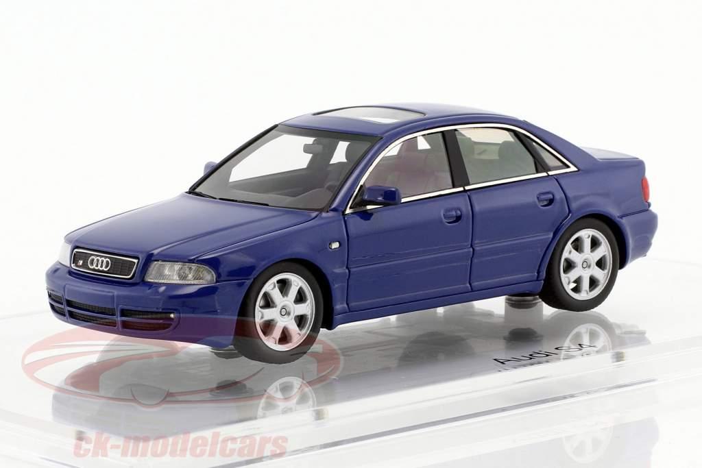 Audi S4 (B5) año de construcción 1997 nogaro azul 1:43 DNA Collectibles