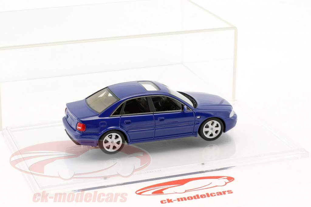 Audi S4 (B5) year 1997 nogaro blue 1:43 DNA Collectibles