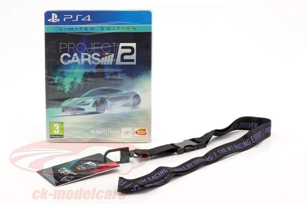 McLaren 720S 1:12 TrueScale Ultra Edition Project Cars 2 incluindo jogo PS4 e outro acessórios