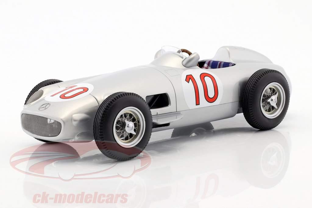 J.M. Fangio Mercedes-Benz W196 #10 Vinder belgisk GP verdensmester formel 1 1955 1:18 iScale
