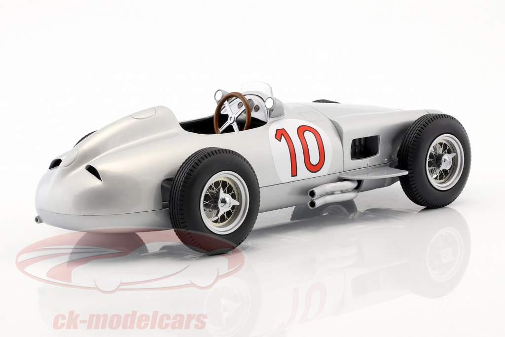 J.M. Fangio Mercedes-Benz W196 #10 gagnant belge GP champion du monde formule 1 1955 1:18 iScale