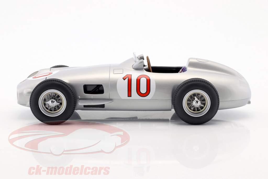 J.M. Fangio Mercedes-Benz W196 #10 vencedor belga GP campeão do mundo fórmula 1 1955 1:18 iScale