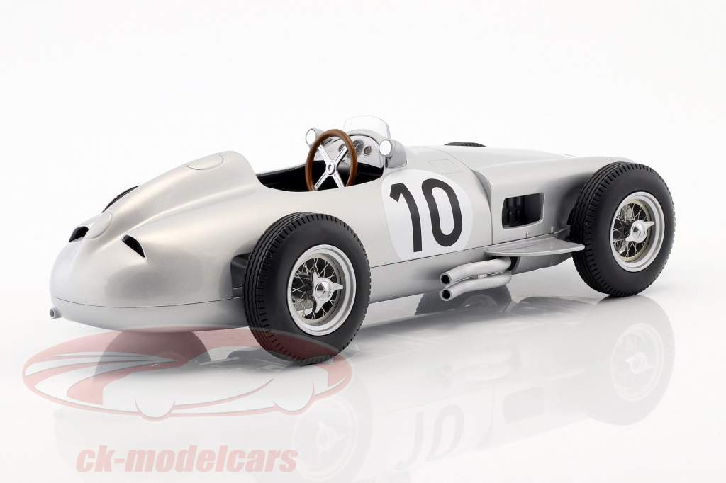 J.M. Fangio Mercedes-Benz W196 #10 2 ° britannico GP campione del mondo formula 1 1955 1:18 iScale