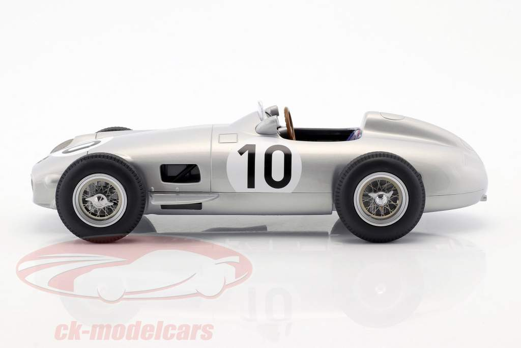 J.M. Fangio Mercedes-Benz W196 #10 2nd British GP World Champion Formel 1 1955 1:18 iScale