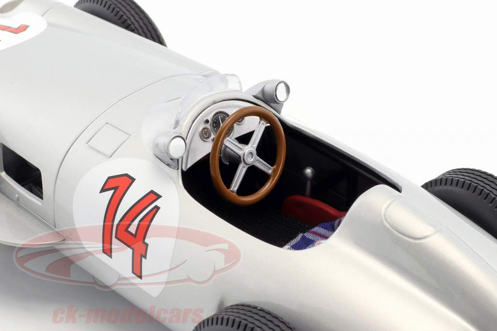 Stirling Moss Mercedes-Benz W196 #14 2 belge GP formule 1 1955 1:18 iScale