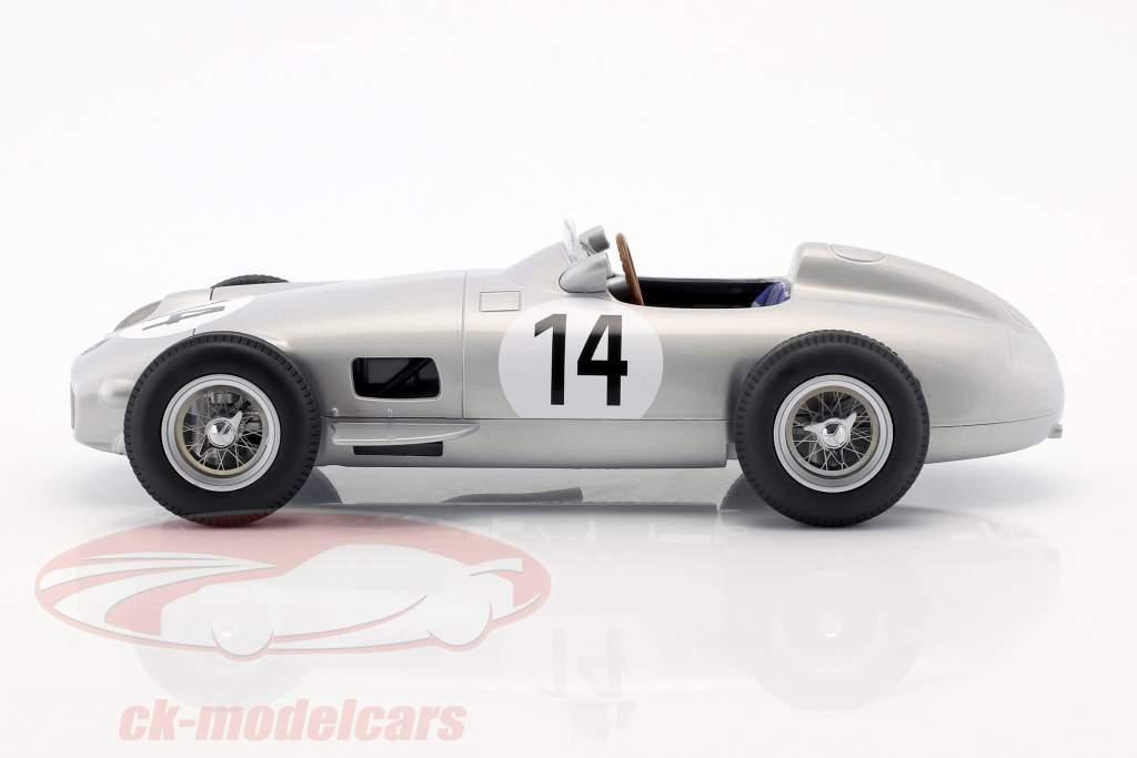 Karl Kling Mercedes-Benz W196 #14 3e Brits GP formule 1 1955 1:18 iScale