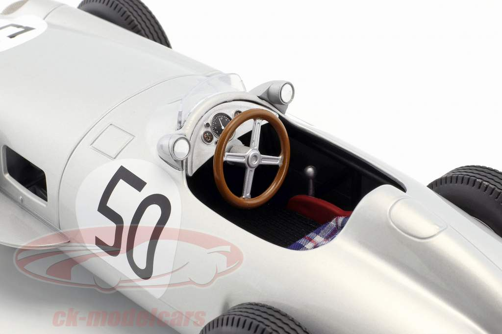 Piero Taruffi Mercedes-Benz W196 #50 4ª britânico GP fórmula 1 1955 1:18 iScale