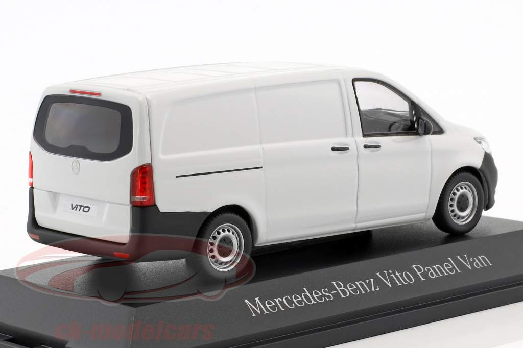Mercedes-Benz Vito Kastenwagen Arktik wit 1:43 Norev MB