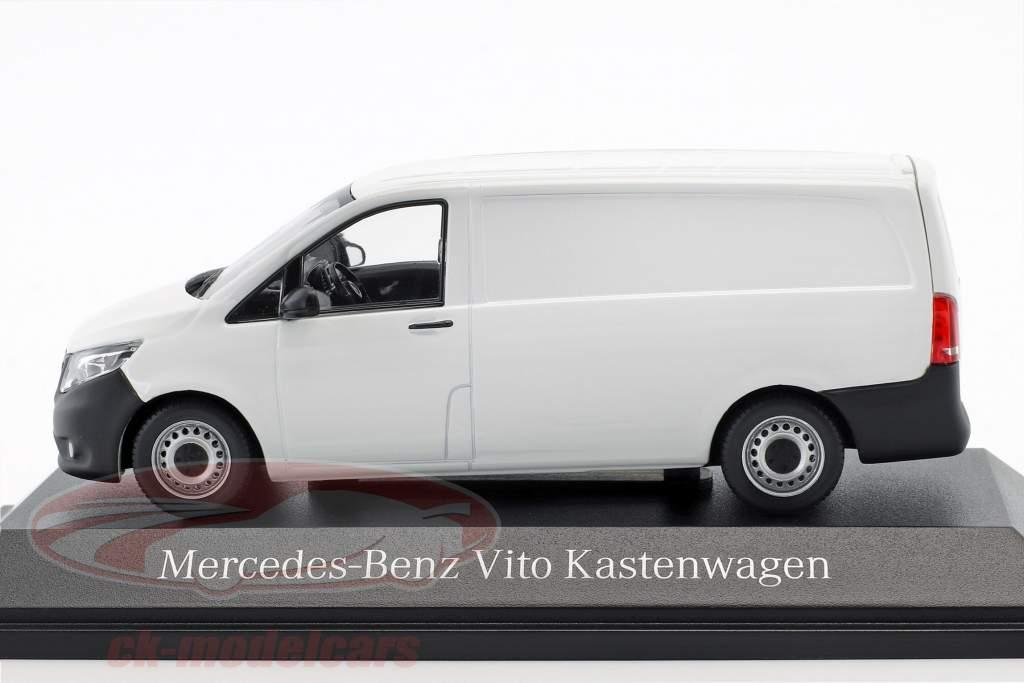 Mercedes-Benz Vito Kastenwagen Arktik branco 1:43 Norev MB