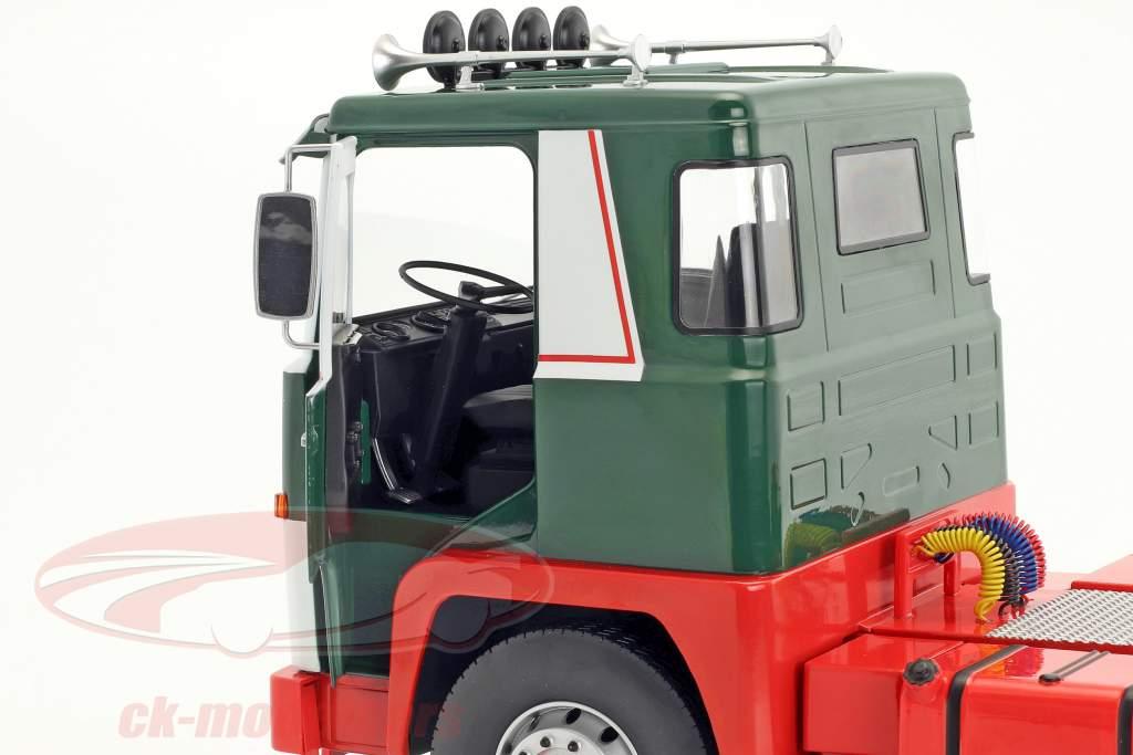 Scania LBT 141 Traktor Opførselsår 1976 grøn / rød / hvid 1:18 Road Kings