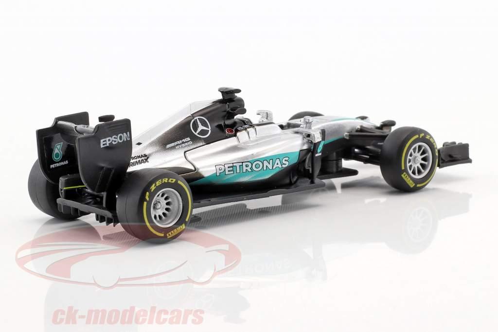 Lewis Hamilton Mercedes F1 W07 Hybrid #44 formule 1 2016 1:43 Bburago