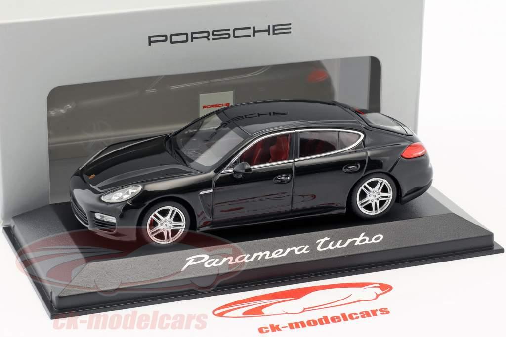 Porsche Panamera Turbo Gen. II Opførselsår 2014 sort 1:43 Minichamps