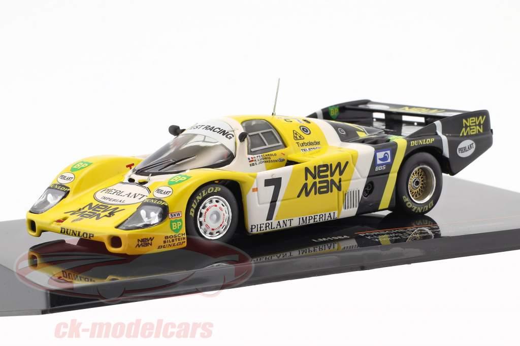Porsche 956B #7 vencedor 24h LeMans 1984 Ludwig, Pescarolo, Johansson 1:43 Ixo