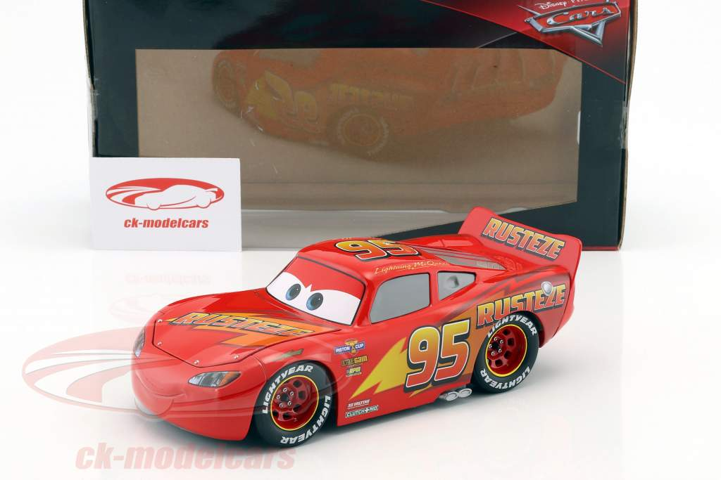 Lightning McQueen mit Reifen-Set Disney Film Cars 3 (2017) rot 1:24 Jada Toys