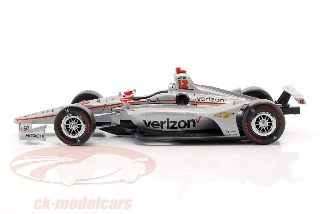 Will Power Chevrolet #12 gagnant Indy 500 champion Indycar Series 2018 Team Penske 1:18 Greenlight