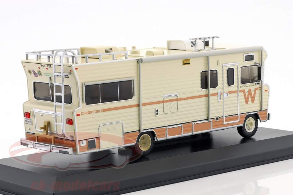 Dale's Winnebago Chieftain anno di costruzione 1973 serie TV The Walking Dead (dal 2010) beige 1:43 Greenlight
