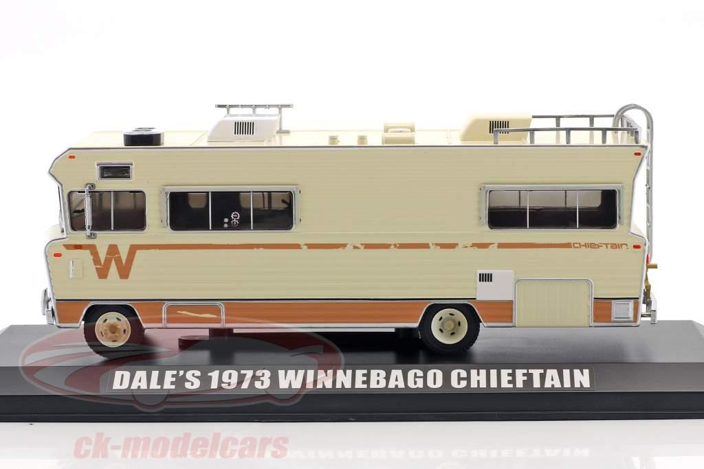 Dale's Winnebago Chieftain Opførselsår 1973 TV-serie The Walking Dead (siden 2010) beige 1:43 Greenlight