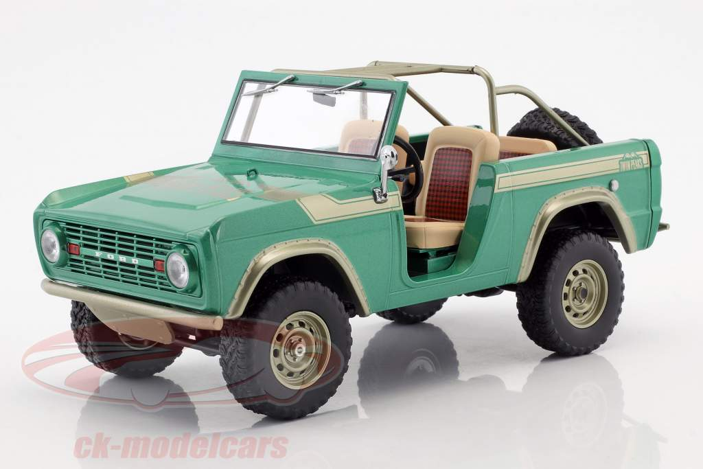 Ford Bronco Opførselsår 1976 TV-show Gas Monkey Garage (siden 2012) grøn 1:18 Greenlight