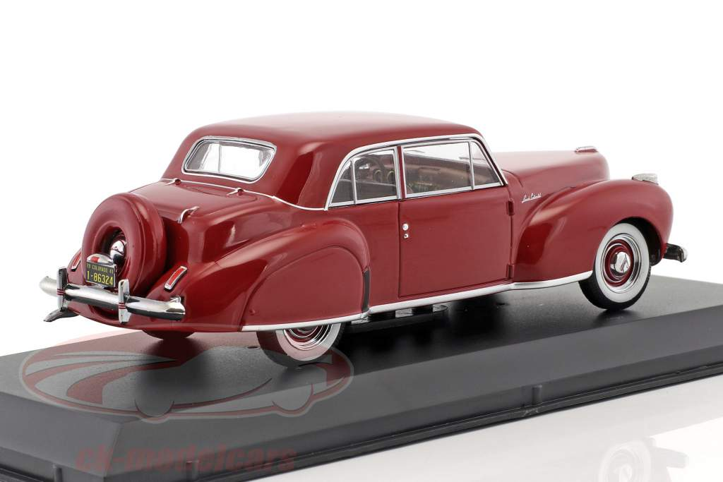 Lincoln Continental Construction year 1941 dark red 1:43 Greenlight
