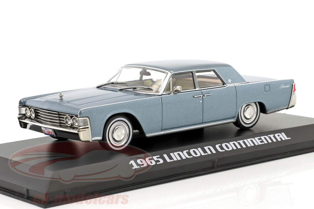 Blue 1:43 1965 Lincoln Continental Greenlight 86329