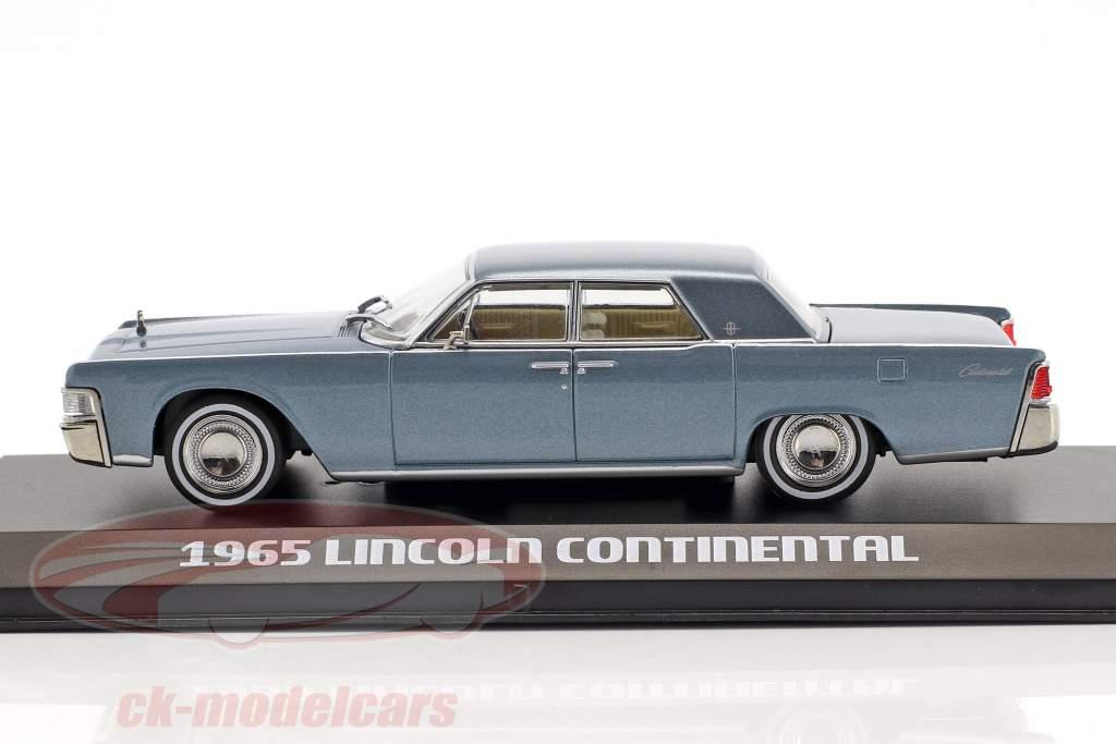 Lincoln Continental Bouwjaar 1965 madison grijs 1:43 Greenlight