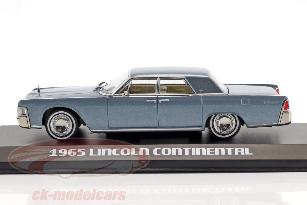 Lincoln Continental year 1965 madison grey 1:43 Greenlight