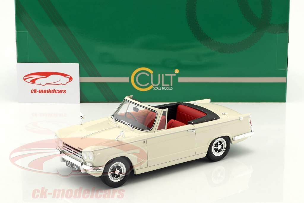 Triumph Vitesse MK2 DHC Baujahr 1962-1968 weiß 1:18 Cult Scale