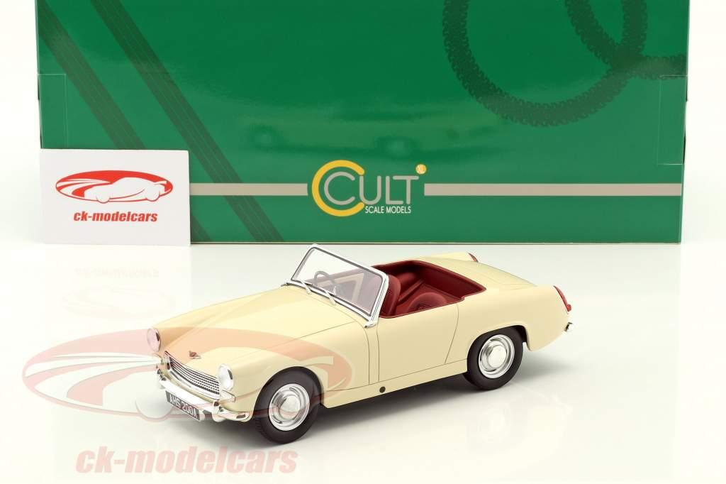 Austin Healey Sprite MK2 Baujahr 1961 creme weiß 1:18 Cult Scale