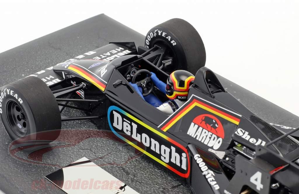 Stefan Bellof Tyrrell Ford 012 #4 britannique GP formule 1 1984 1:18 Minichamps