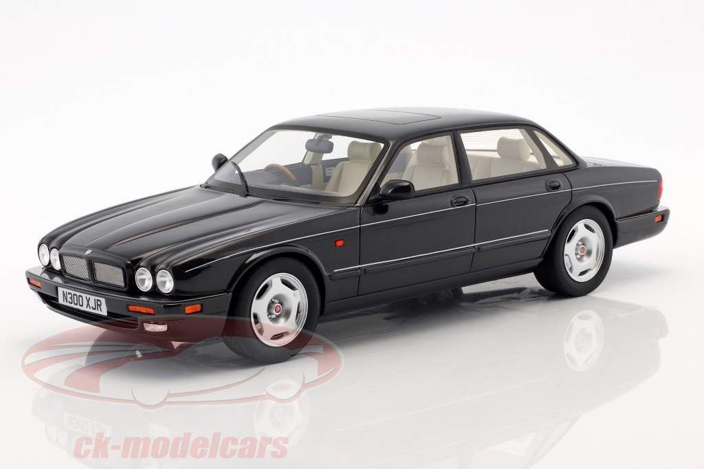 Jaguar XJR X300 year 1995 black metallic 1:18 Cult Scale