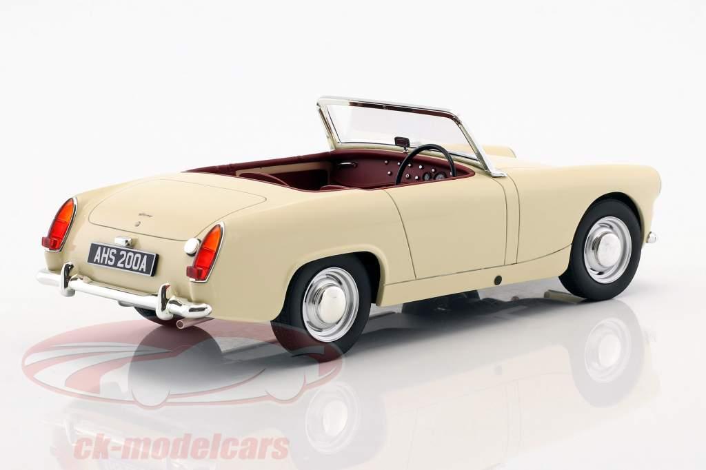Austin Healey Sprite MK2 anno di costruzione 1961 crema bianco 1:18 Cult Scale