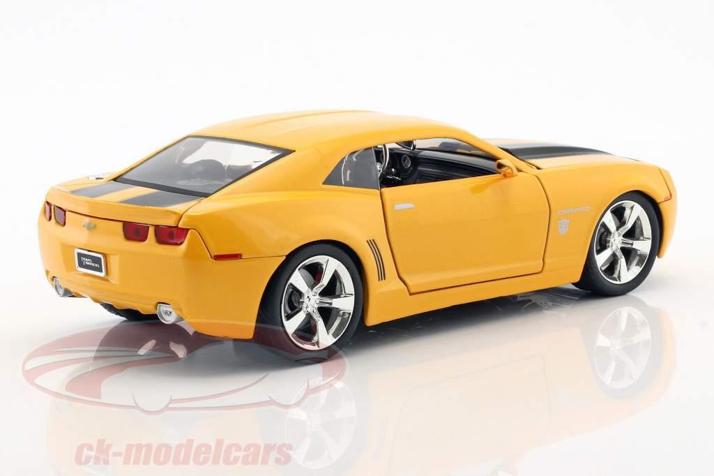 Chevrolet Camaro Bumblebee année de construction 2006 film Transformers (2007) orange métallique 1:24 Jada Toys