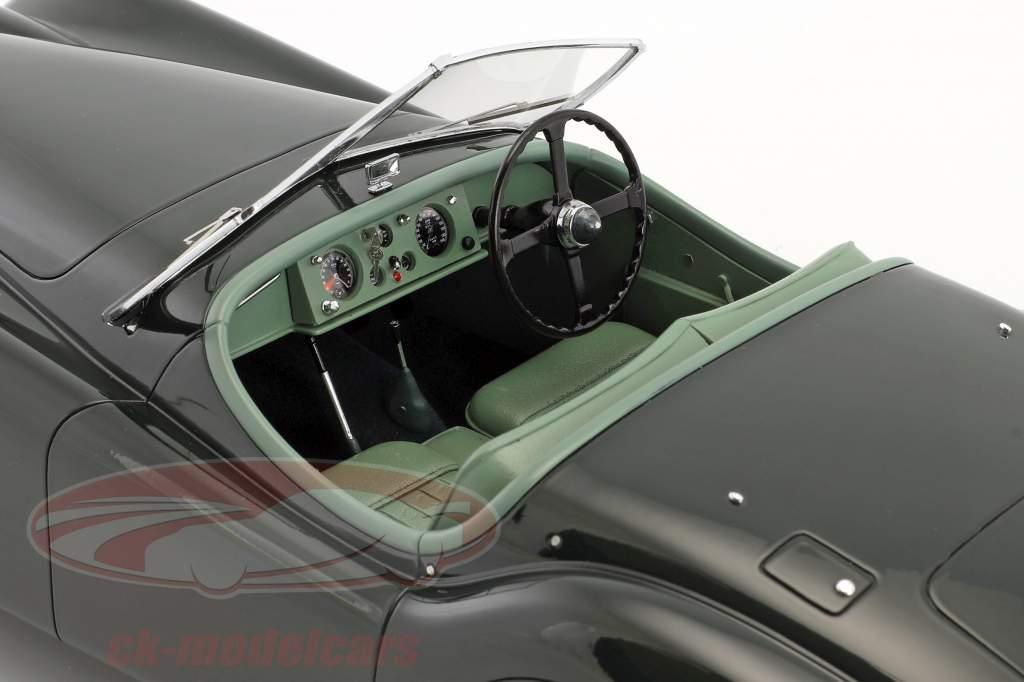 Jaguar XK 120 OTS Opførselsår 1948-1954 mørkegrøn 1:12 Matrix