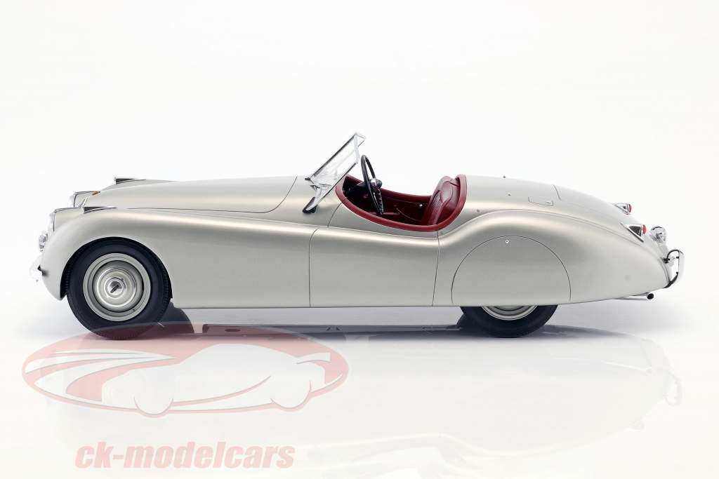 Jaguar XK 120 OTS year 1948-1954 silver 1:12 Matrix