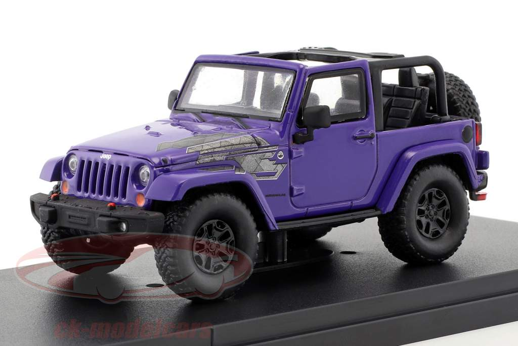 Jeep Wrangler All Terrain hiver édition 2017 pourpre 1:43 Greenlight