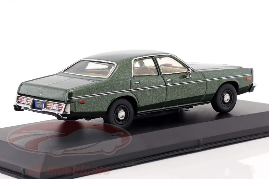 Rick Hunter's Dodge Monaco ano de construção 1978 série de TV Hunter (1984-1991) verde metálico 1:43 Greenlight