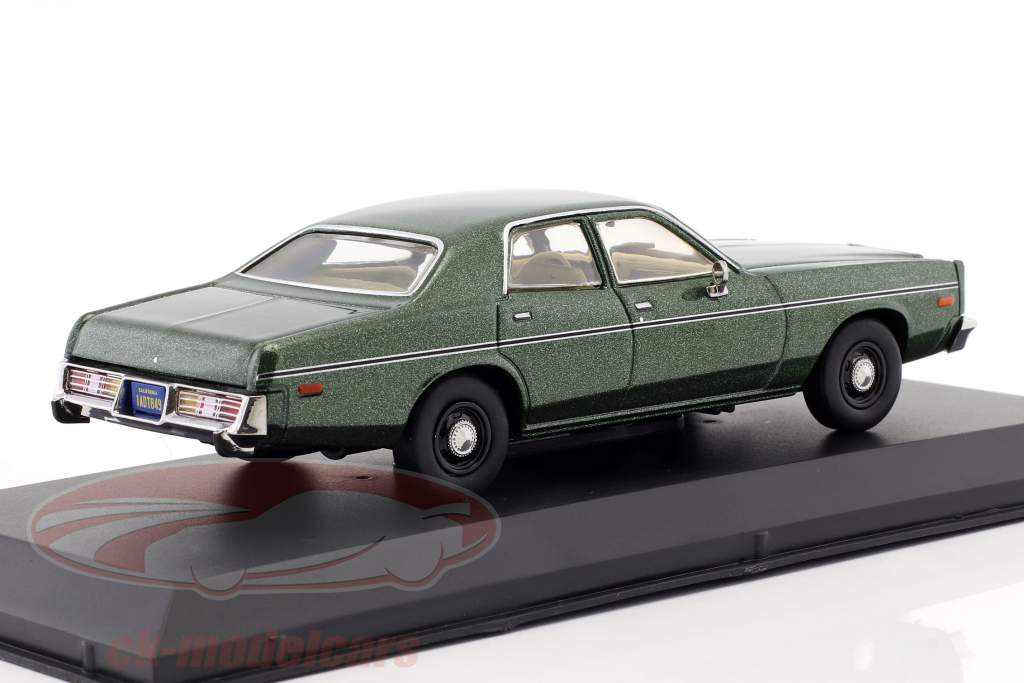 Rick Hunter's Dodge Monaco Opførselsår 1978 TV-serie Hunter (1984-1991) grøn metallisk 1:43 Greenlight