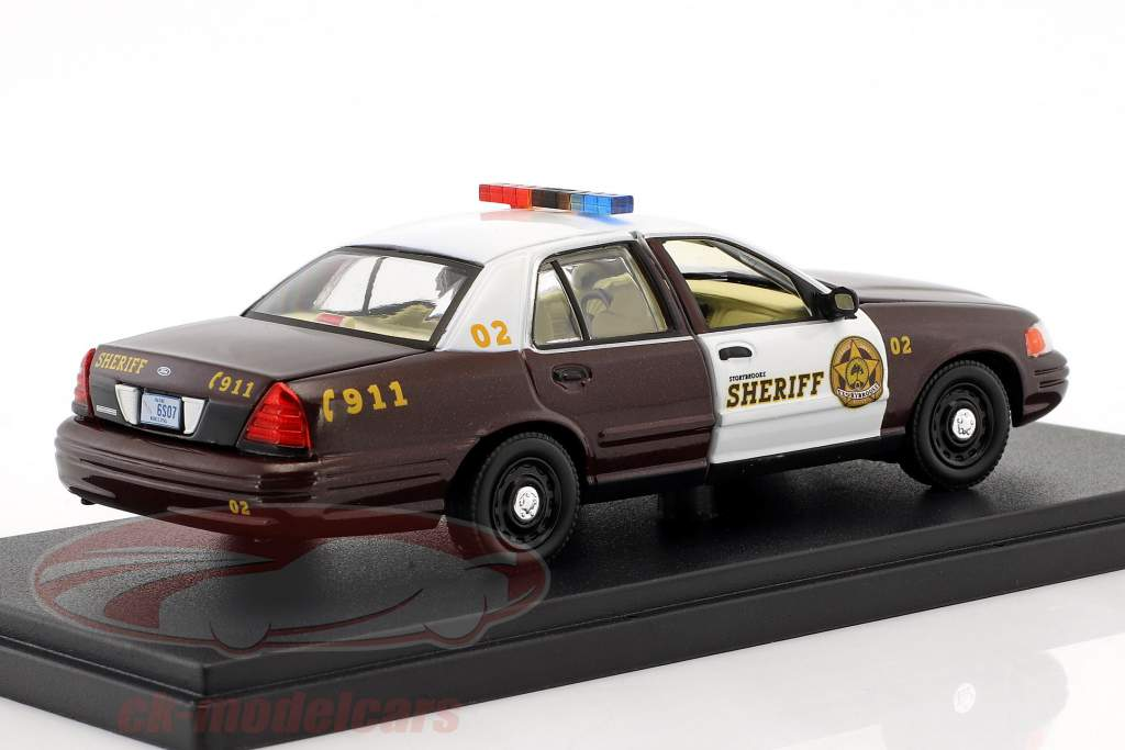 Ford Crown Victoria Police Interceptor 2005 série de TV Storybrooke - Once upon a time 1:43 Greenlight