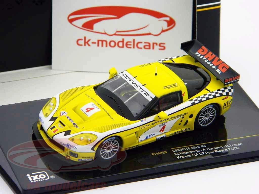 Corvette C6-R #4 Winner FIA GT Paul Ricard 2006 1:43 Ixo