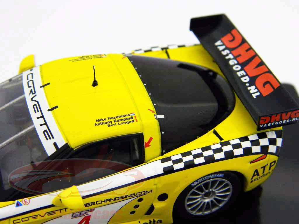 Vencedor do Corvette C6-R #4 FIA GT Paul Ricard 2006 1:43 Ixo