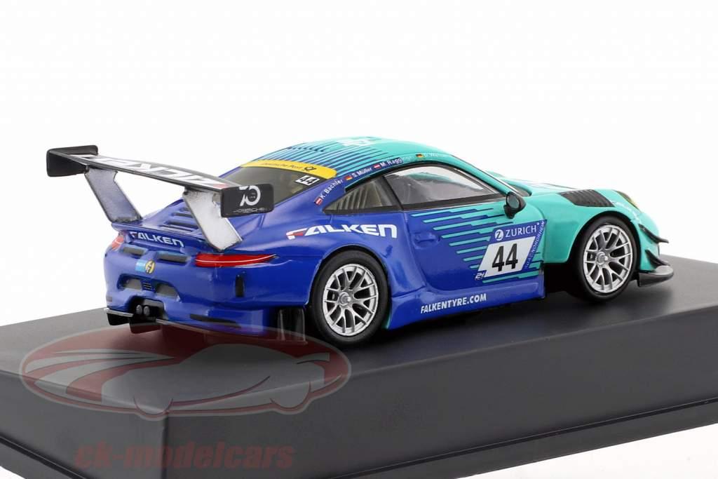 Porsche 911 (991) GT3 R #44 9th 24h Nürburgring 2018 Falken Motorsports 1:64 Spark