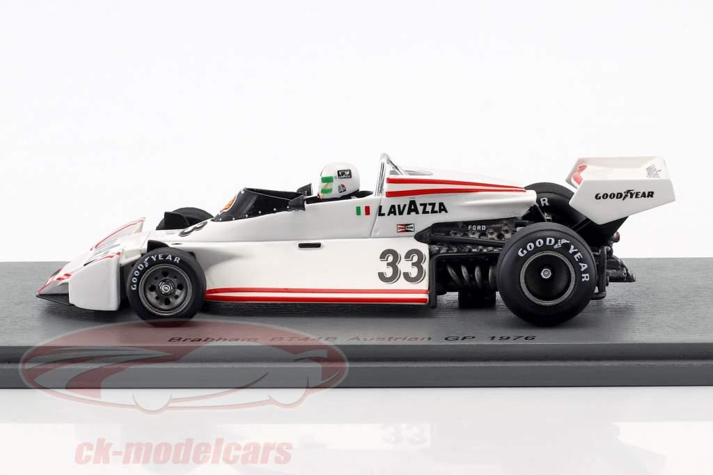 Lella Lombardi Brabham BT44B #33 austríaco GP fórmula 1 1976 1:43 Spark